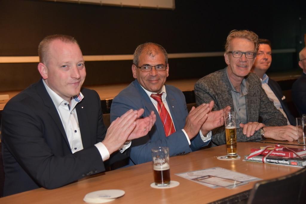 Martin Kitroschat, Markus Shenouda und Dr. Eckhard Günnewig